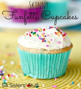 Skinny Funfetti Cupcakes1