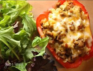 Turkey-stuffed-peppers